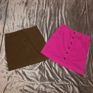 Gap Khaki Skirt Bundle 🌟
